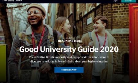 2020年TIMES英国音乐学院最新排名